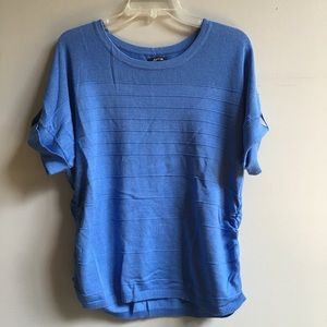 Apt. 9 Blue Pullover Sweater Large